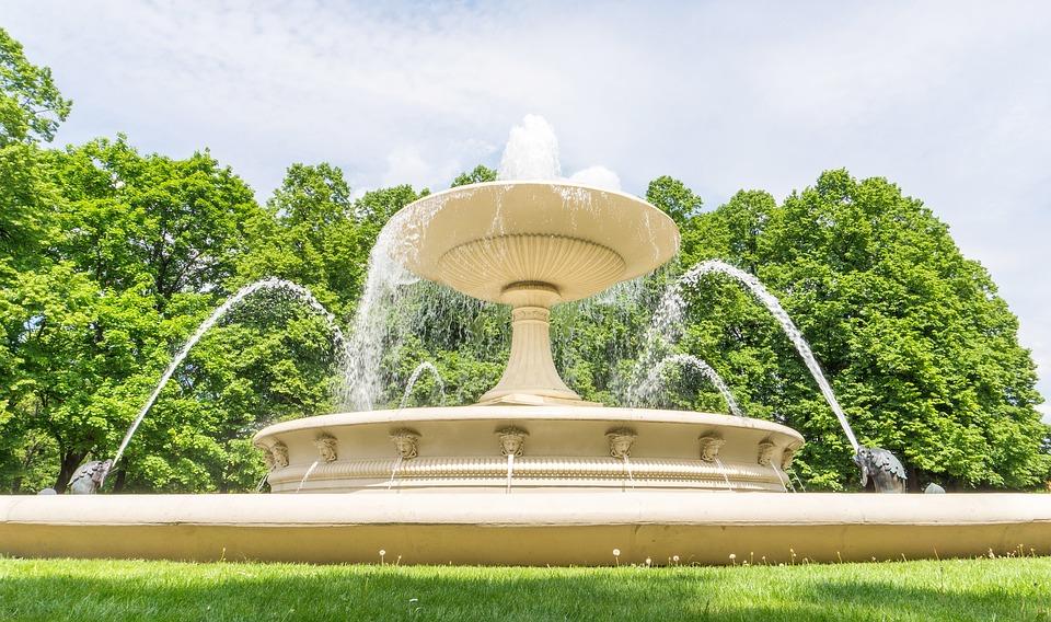 Les fontaines de jardin et à eau